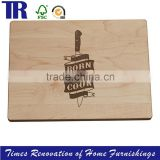 Designed Personalized Cutting Board Wedding Gifts homemade and handmade tattoo rock 'n' roll style