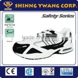 Comfortable Athletic Sport Steel Toe Safety Running Shoe