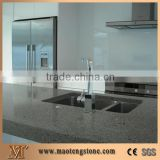 Prefab Artificial Grey Quartz Home Kitchen Countertop