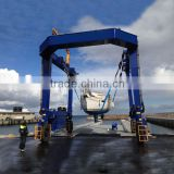 Boat Lifting Gantry Crane Boat Lift Winch