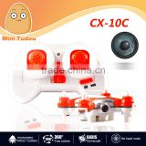 Minitudou 2015 new nano CX- 10C RC mini quadcopter 6 axis 2.4G with 0.3MP small camera nano drone