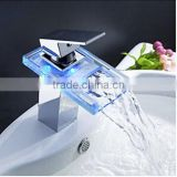 NEW Deck Mounted LED Bathroom Basin Faucet Single Handle Vanity Sink Mixer Tap                                                                         Quality Choice