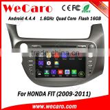 "Wecaro android 4.4.4 car gps navigation China Factory 8"" for honda fit android mirror link 2009 2010 2011"