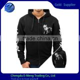 Mens Custom Zipper Printed Hoodie China Supplier with Low price