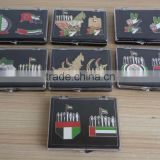 free combination UAE badges in plastic box UAE national day gift lapel pin