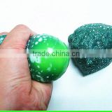 magic stone shaped stress squeeze ball with gel inside