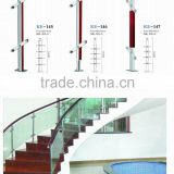 stair stainless steel baluster, movable badminton railing post, stairs wood baluster design