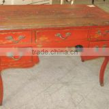 Antique furniture chinese wooden drawer desk LWD287