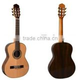 Musoo brand 39'' classical acoustic handcrafted guitar(MC150)