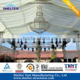 Shanghai luxury church curtains decoration tent for different outdoor events, parties, weddings