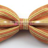Hot Sale Ladies Mans Silk Satin Neck Bow Tie Solid Colour Pre Tied Wholesale Bow Tie for decoration BOT2019