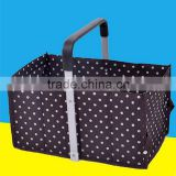 2015 Hot Sale Wholesale Folding Shopping Basket