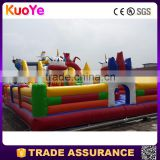 wholesale Ultraman theme inflatable playground rentals