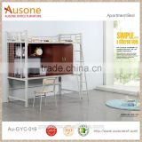 school furniture dormitory student room wooden stair bunk