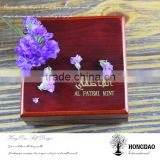 HONGDAO Arabic style wooden boxes,painted jewelry box,burl wood jewelry box
