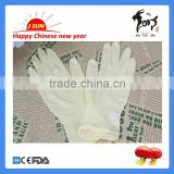 Medical Using Disposable Latex Examination Gloves