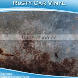 SINO 1.52x30M Artificial Rusty Car Vinyl Film Car Protection Anti Theft Adhesive Sticker