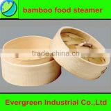 excellent quality bamboo steamer for dim sum food