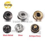 Metal Press Studs Sewing Button Snap Fasteners Sewing Leather Craft Clothes Bags #GZ153-12