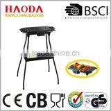 European and portable Barbecue Stand and Table grill with foldable 4-Legs