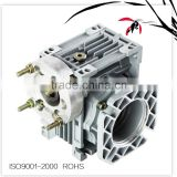 Die Cast Aluminum cast iron case NMRV 025-150 Worm Speed reducer ,Gearbox With Motor gearing arrangement for Industry