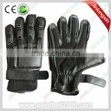 full finger paintball gloves leather gloves