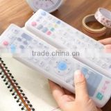 New custom silicone remote control case, silicone case for remote control, water dust proof remote sleeves