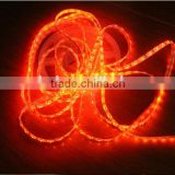 Orange smd 3528 strip led light 60leds dc12v ip65 waterproof silicon coating led strip light