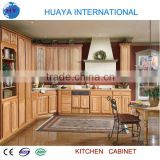 PARTICLE BOARD KITCHEN CABINET EUROPEAN DESIGN WOOD GRAIN COLOR