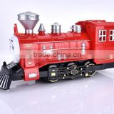 ABS clockwork toy mini cartoon toy train plastic train tracks toy
