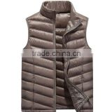 Custom Ultra Light Duck Down Vest