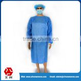 Factory price skin-friendly sterile Medical clothes medical consumable 35GSM SMS Surgeon Gown