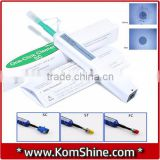 Optical Connector One Click Cleaner KomShine KOC-250/125 Fiber Endface Pentype Cleaner/Push Cleaner, Fiber Ferrule Cleaning Tool                                                                         Quality Choice