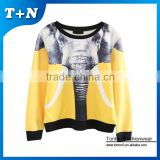 Fabric 80% cotton 20% polyester baseball chimney collar sweatshirt