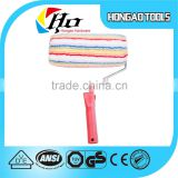 High-Density colorful roller paint wall brush with ce certificate,short hair paint roller