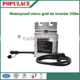 Grid tie micro inverter dc to ac inverter 250w whaterproof