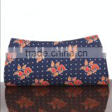 RTVC-003 Canvas Block Printed vintage Hand Clutch For Women