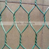 anping low price pvc coated galvanized heavy hexagonal chicken wire mesh netting coop gabion box roll fabric for sale