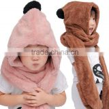 High quality Children hat and scarf Set/ children warming item neck warmer and hat