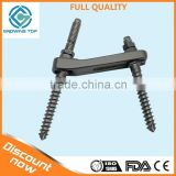 All series of external fixation surgical instruments,DF type Spinal Implant For Rf Spinal Fixation System