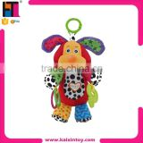 2015 new plush animal mobile toys car hanging soft baby rattle                                                                         Quality Choice