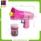 Promotion Plastic Toy Bubble Blower Gun