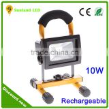 CE, RoHS approval super brightness led floodlight 10w china supplier aluminum portable led flood light led work light