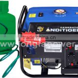 2kw loncin model LPG and Gasoline double use generator set