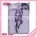 Support Original Design Hot Game Role OW Widowmaker Amelie Lacroix Cover Bedding Sets Queen Size,4Pcsvet Cover Anime Bed Sheet