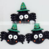New arrival stock resin Halloween resin cabochons resin araneid for phone hair decoration