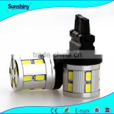 New 48W t20 w21/5w 7443 led, 420LM White 3014smd 11561157 7440 7443 w21/5w car bulb break light DC12- 24V Led bulb lights