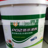 Polymer cement waterproof coating(P02) for bridge