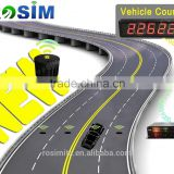 Rosim Long Range Vehicle Detector Car Presence Detection Sensor for traffic Counting System