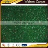 Good quality exhibition use plain velour cheap needle punch carpet